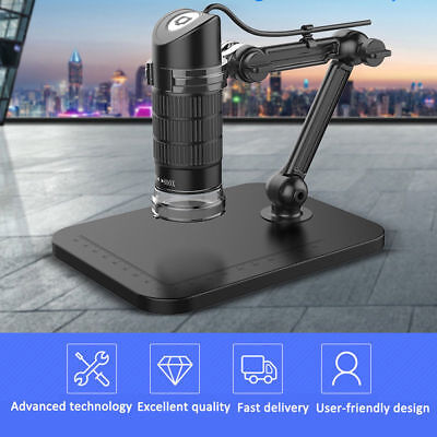 1000x 8led Usb Digital Microscope Endoscope Zoom Camera Magnifier Stand Te859