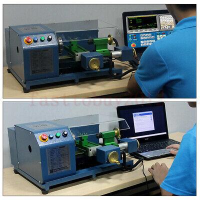 220v Toauto Precision Cnc Mini Matel Lathe Machine For Cnc Teaching School 100w