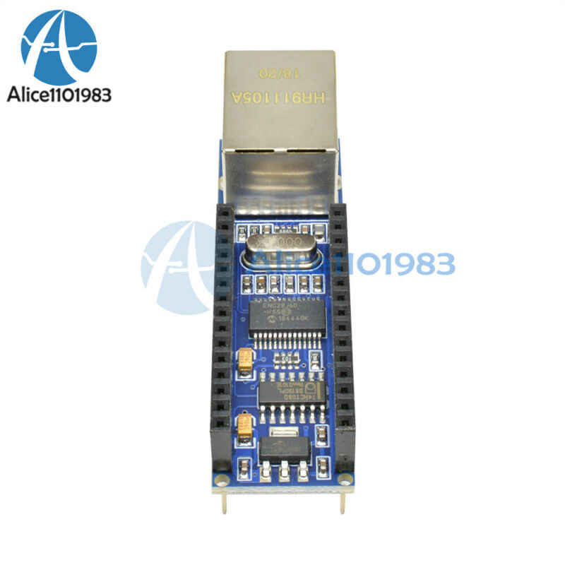ENC28J60 Ethernet Shield for Arduino Nano 3.0 RJ45 Webserver Module