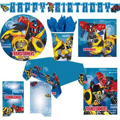 Transformers Kindergeburtstag Auswahl Deko Party Dekoration Geburtstag NEU ()