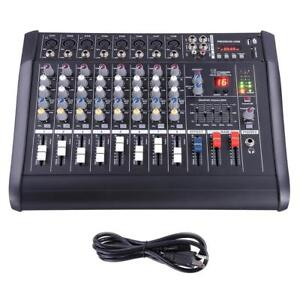 mixer amplifier pmx-208 usb