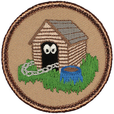 Cool Boy Scout Patches- The Dog House Patrol! (#061)