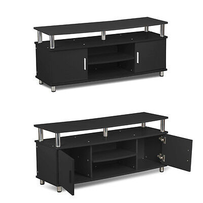 TV Stand Entertainment Center Media Console Home Wood Furniture Storage Cabinet