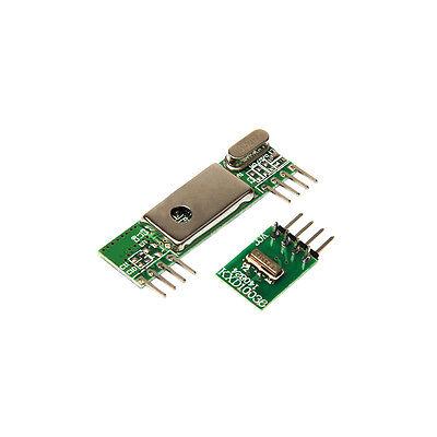 New Geeetech 433mhz Superheterodyne 3400rf Transmitter Receiver Link Kits