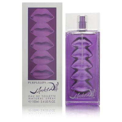 Purple Lips by Salvador Dali for Women 3.4 oz EDT Spray Brand -