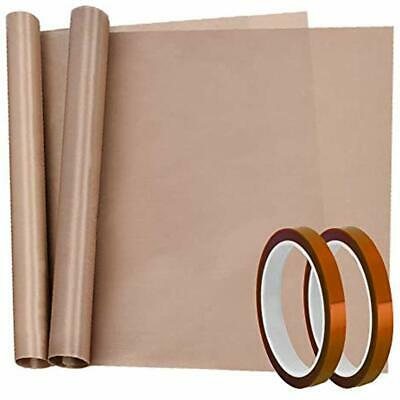 4 Pack Adhesive Transfer Tape Heat High Temp And Teflon Sheet For Vinyl Press