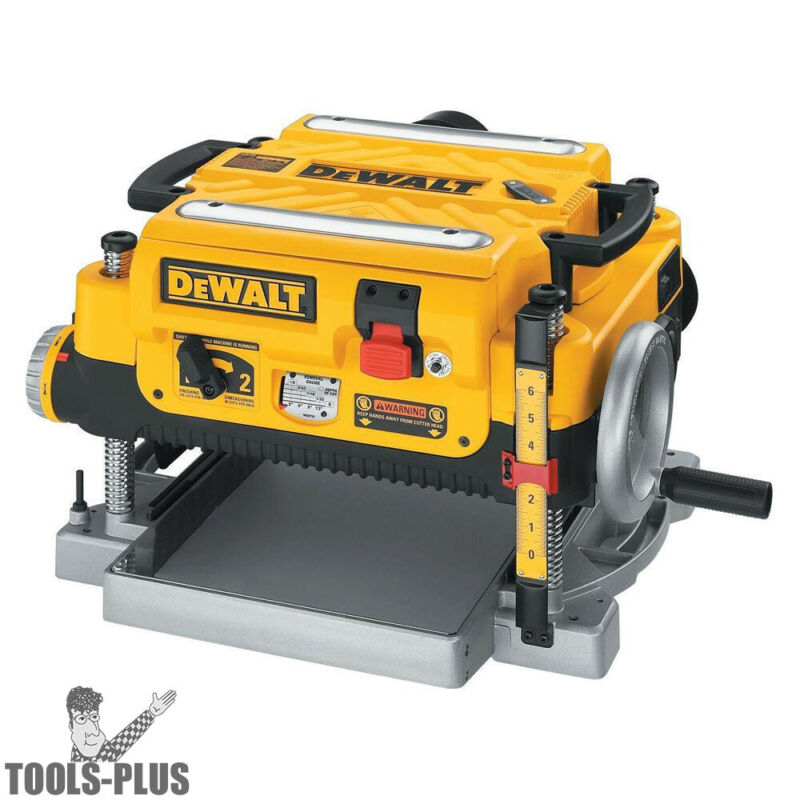 "DeWalt DW735 13"" Three Knife, Two Speed Portable Thickness Planer New"