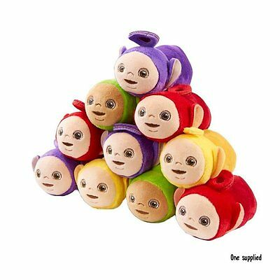 TELETUBBIES STACKABLE SOFT TOY - PO LA-LA DIPSY OR TINKY WINKY NEW  - Teletubbies Po