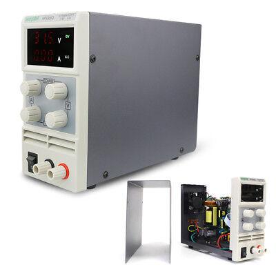 DC Fuente de alimentación de laboratorio 0-30V 0-5A Pantalla digital ajustable