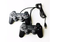 Pair USB Gamepad for PC with Dual Vibration-Joypad Controller