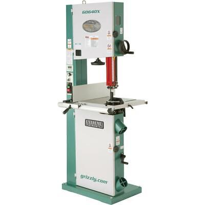 Grizzly G0640x 17 2 Hp Metalwood Bandsaw Winverter Motor