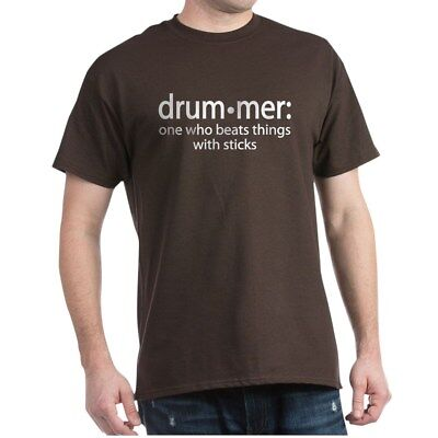 Drummer Dark T-shirt (CafePress Funny Drummer Definition Dark T Shirt 100% Cotton T-Shirt (374557881) )