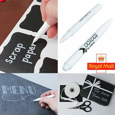 Erasable White Liquid Chalk Pens Marker For Glass Windows Chalkboard Blackboard
