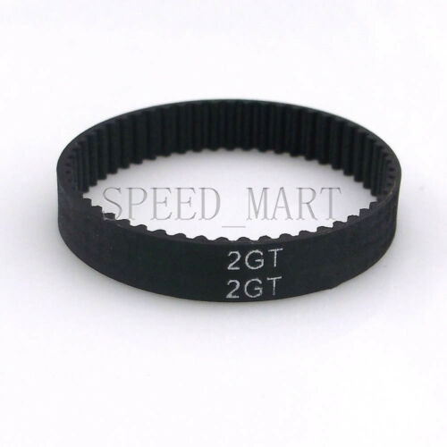 2GT 6mm 3D Printer GT2 Timing Belt Loop Closed 2mm Pitch 102/150/200/500-1350