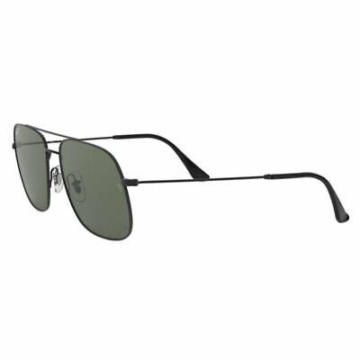 Authentic Ray Ban Unisex Sunglasses w/Dark Green Polarized Lens RB3595 (Dark Lens Ray Bans)