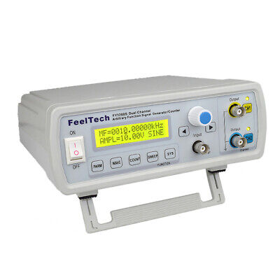 24mhz Digital Dds 2-channel Function Signal Generator Frequency Counter Us S3u3