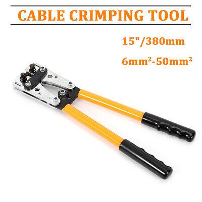 6 - 50 Mm Plug Crimp Crimping Tool Battery Cable Lug Hex Terminal Crimper