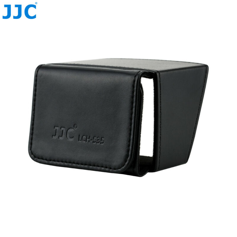 Leather LCD Screen Hood Protector Cover for Sony PXW-X280 Z150 HVR-Z5C Z7C NX100