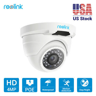 1440P 4MP PoE IP Camera Security Outdoor Video Surveillance Dome Reolink RLC-420