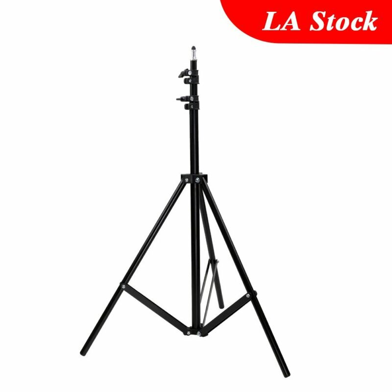 2m Studio Photography Flash LED Video Camera Continuous Lighting Light Stand