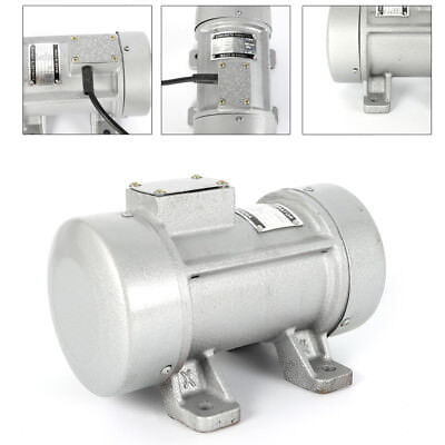 110v60hz Concrete Vibrator Motor For Shaker Table Vibrator 300kgf 2840rpm 0.28kw