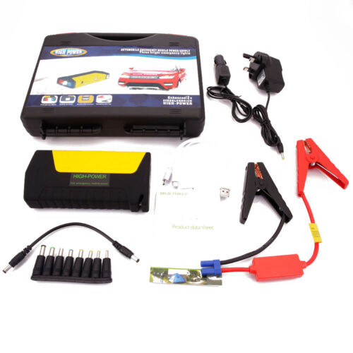 portable 50800mah car jump start pack booster charger battery power bank ebay. Black Bedroom Furniture Sets. Home Design Ideas