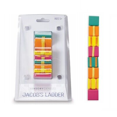 Traditional Wooden Jacobs Ladder Magic Autism Fidget Sensory Toy Stocking Filler