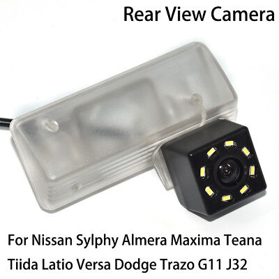 Car Rear View Reverse Backup Camera for Nissan Sylphy Almera Maxima Tiida Latio