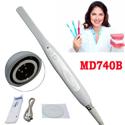 New Md740b Dental Camera Intraoral 6led 1.3mp Digital Usb Imaging Clearsoftware