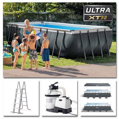 INTEX Komplettset Ultra XTR Frame Pool 549x274x132cm + Sandfilter Swimmingpool