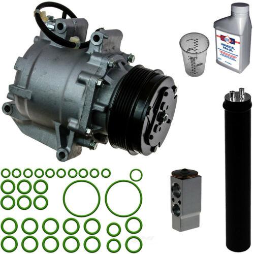 A//C Compressor /& Component Kit-Compressor//Drier//Expansion Valve//Rapid Seal//Oil