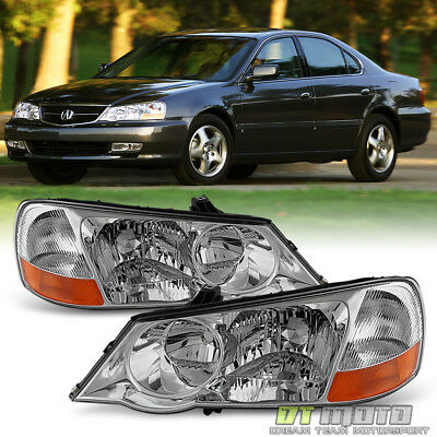2002-2003 Acura TL HID Xenon Headlights Replacement 02-03 Headlamps Left+Right