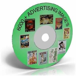 6000-VINTAGE-ADVERTISING-IMAGES-ON-CD-ART-CARDMAKING