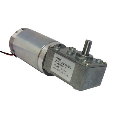 Small Electric 24 Volt Metal Gear Dc Geared Motor Reduction 80 Rpm High Torque
