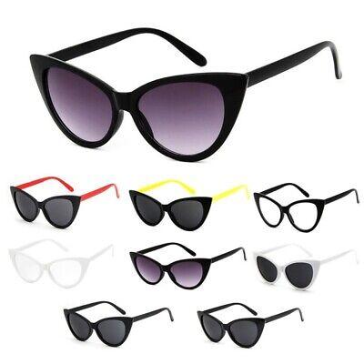 Sonnenbrille Rockabilly Cat Eye Katzenauge Brille Fashion Designer Blogger UV400