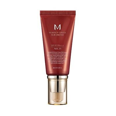 [Missha] M Perfect Cover BB Cream 50ml # 21 SPF42 PA+++ Korean Cosmetic Makeup