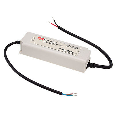 Mean Well Lpvl-150-24 Ac To Dc Switching Enclosed Power Supply 24 Volts 6.3 Amps