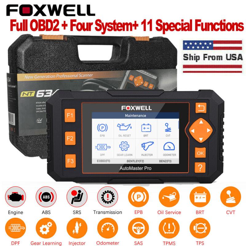 2020 Full System OBD2 Scanner Auto Car Diagnostic Tool Oil EPB Reset Code Reader