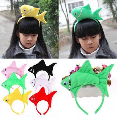 Cute Ocean Sea Fish Headband Cosplay Party Hairband Hair Decor Kids Funny - Headband Funny