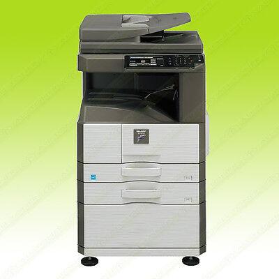 Sharp Mx M266n Monochrome Tabloid-size Printer Copier Scanner Network Usb 26ppm