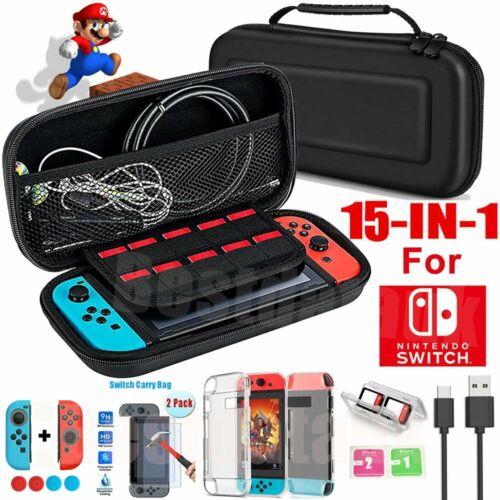 Schutzhülle für Nintendo Switch Tasche Hartschale Reiseetui Box Hard Case Hülle#