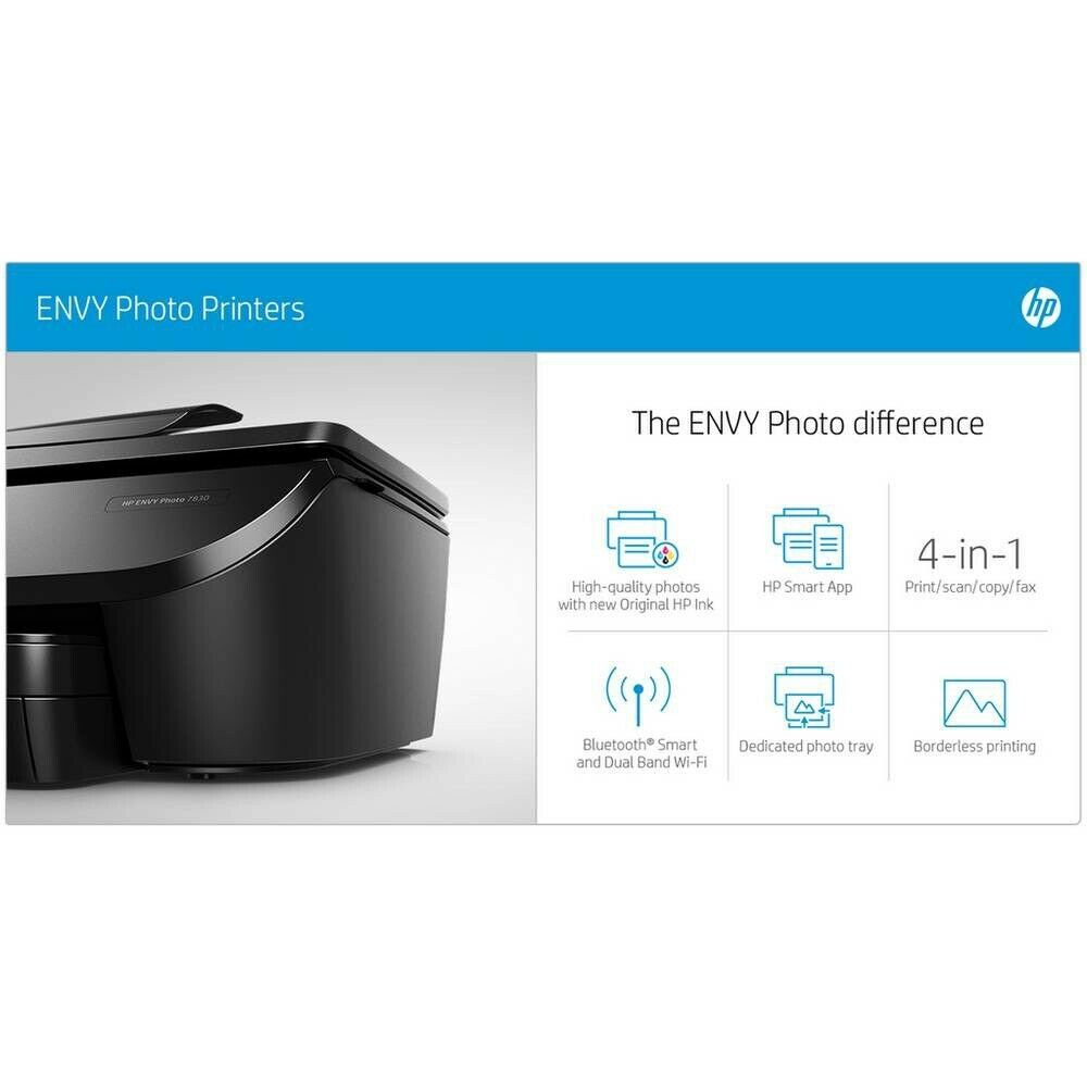 Brand new HP Envy 7830 All-in-One Wireless Photo Printer £150 in the  shops!!!! | in Basildon, Essex | Gumtree