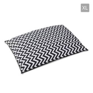 AUS FREE DEL-XLarge Washable Wavy Stripe Heavy Duty Pet Dog Bed
