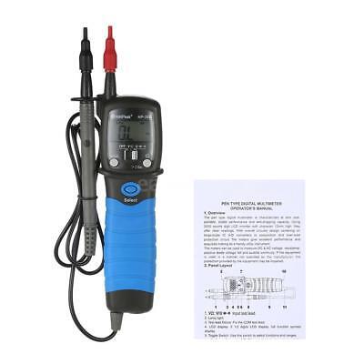 Handheld Pen Type Digital Multimeter Dcac Voltage Meter Resistance Tester W2e1