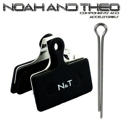 N&t Shimano Br M987 M988 M7000 M8000 M9000 M9020 Semi Metálico Pastillas...