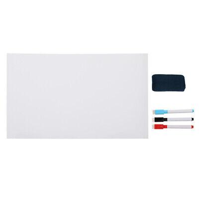 New Dry Erase Board Wall Whiteboard Sticker 15.8 X 11.8 3 Markers Eraser