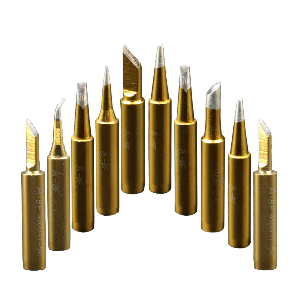 10pcs 900m soldering iron tips for hakko tenma maplin yihua aoyue atten station ebay. Black Bedroom Furniture Sets. Home Design Ideas