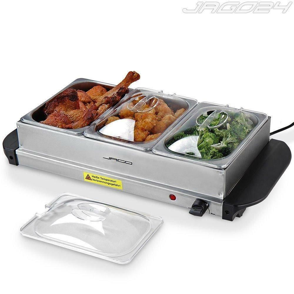 Party Food Warmers ~ Electric food warmer buffet dish server hot plate tray