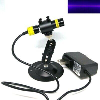 1668 Focusable Line Beam 405nm 100mw Blue Violet Laser Locator Module 5v Power