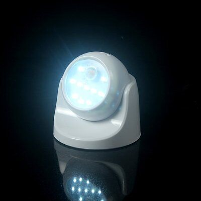 Lampara led sensor de movimiento garaje parcelas trastero rotación 360º